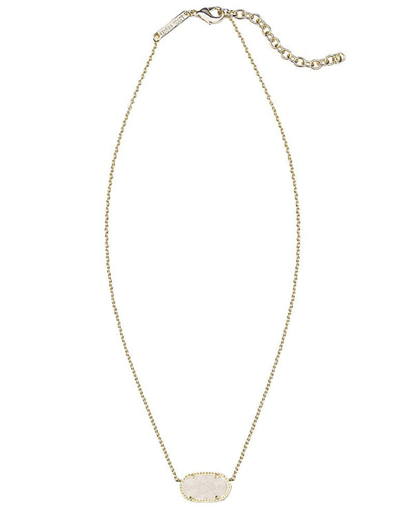 KENDRA SCOTT Elisa Necklace in Iridescent Drusy - Sabi Boutique - 2
