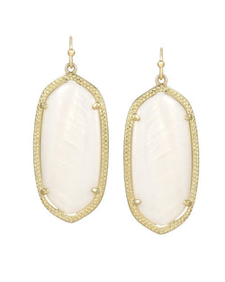 KENDRA SCOTT Elle Earrings in White - Sabi Boutique