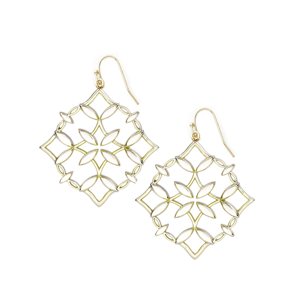 Grace Drop Earring - Gold