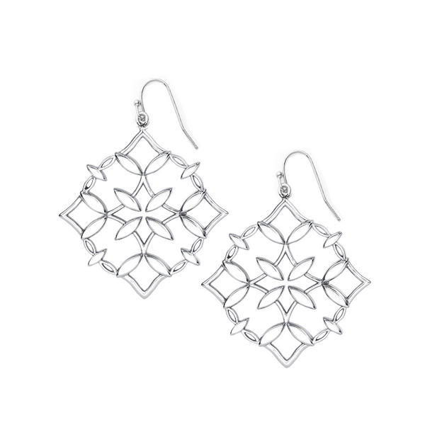Grace Drop Earring - Silver