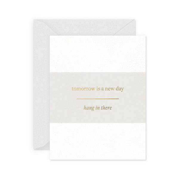 New Day Encouragement Greeting Card