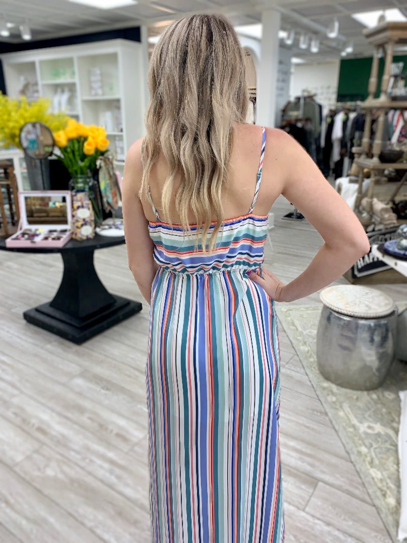 Stripe My Fancy Maxi Dress