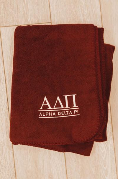 Sorority Blanket