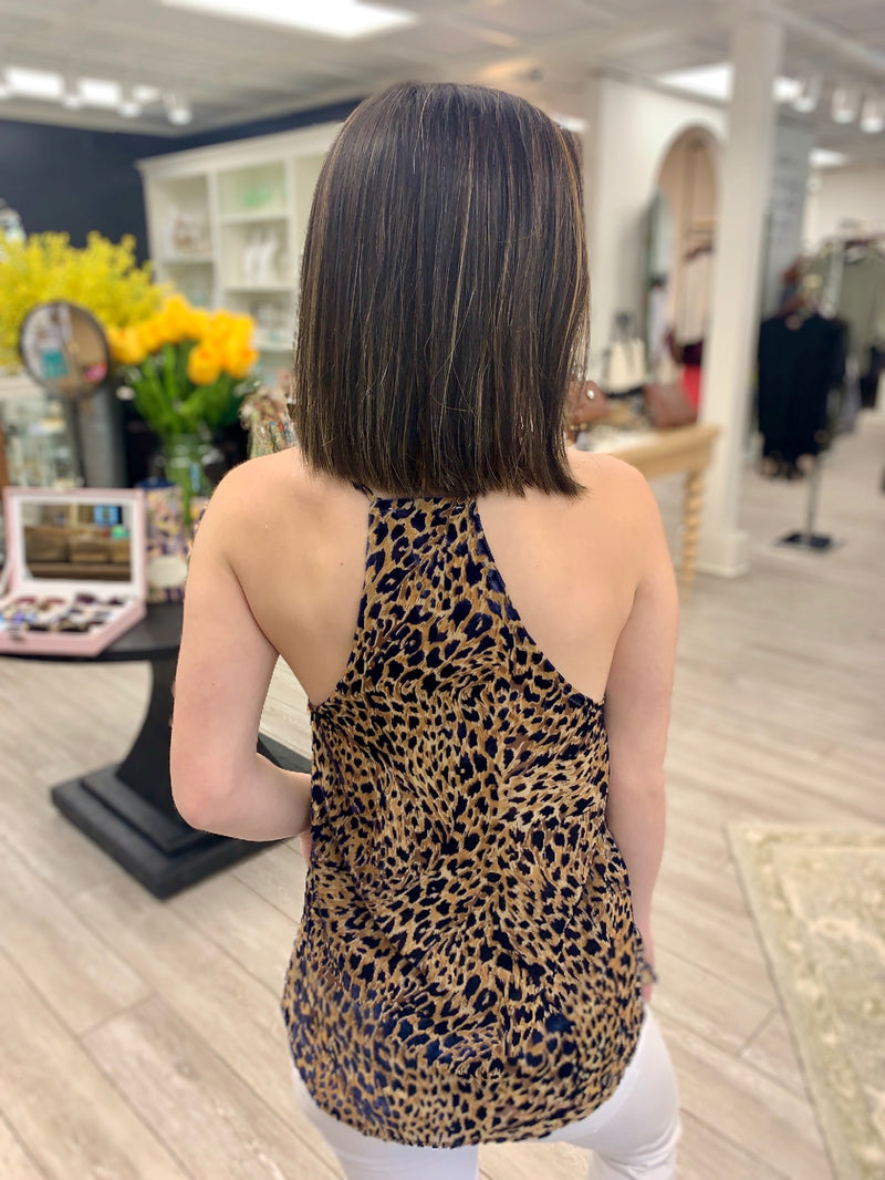 Leopard On My Mind Cami