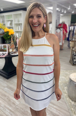 Summer Time Stripes Dress