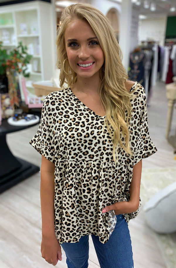 Love Out Loud Leopard Top