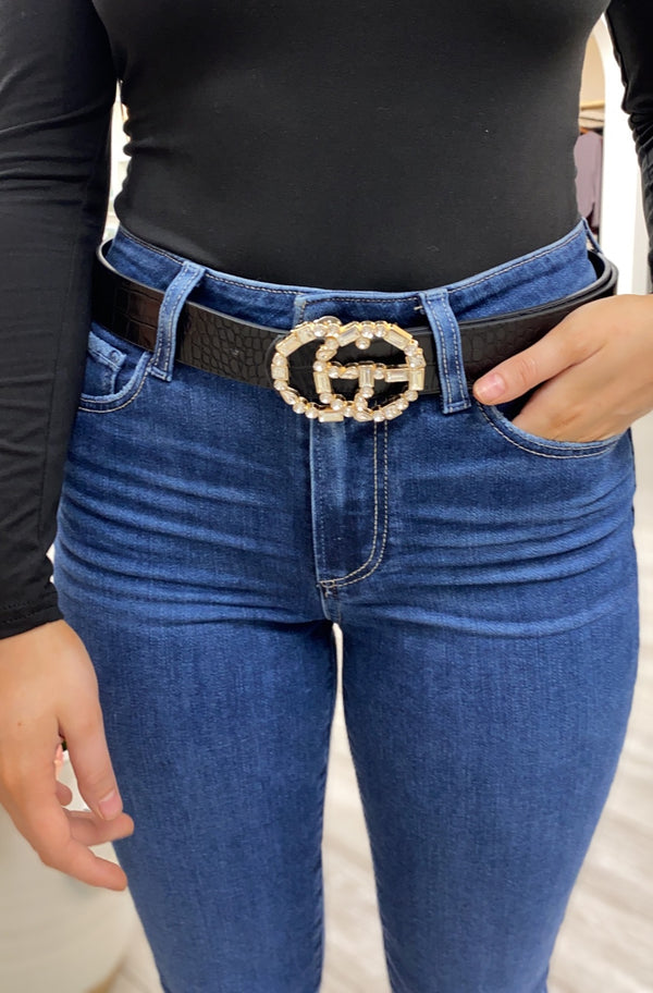 Blakely Belt, Rhinestone