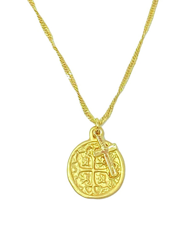Gema Gold Necklace