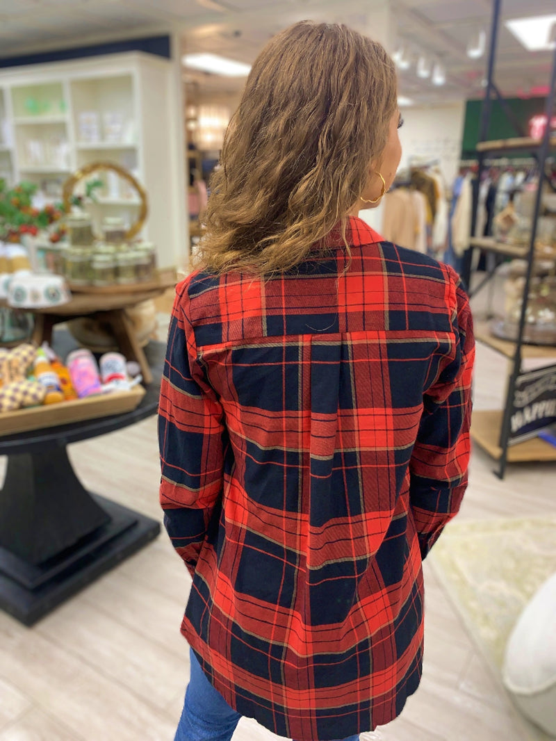 Plaid for Days Top