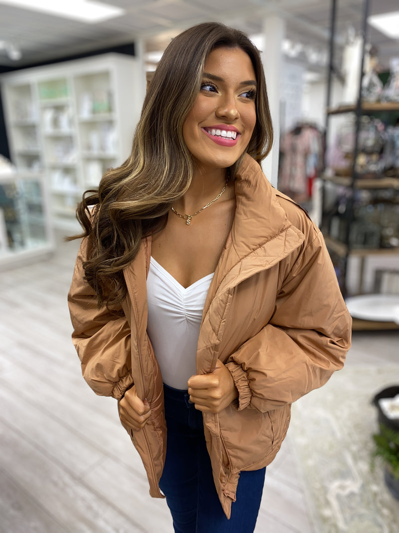 Moto Leather Jacket in White