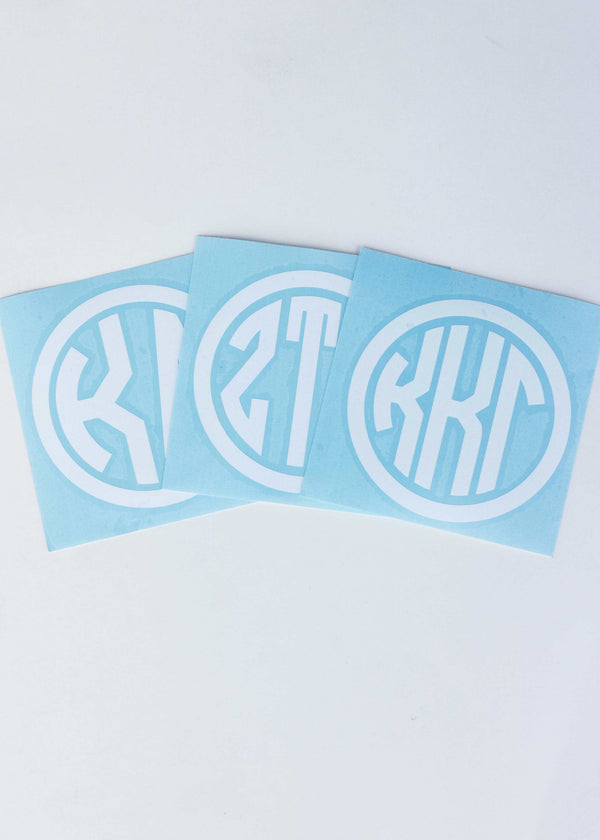 Sorority Decal - Sabi Boutique