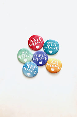 Sorority Mom Button
