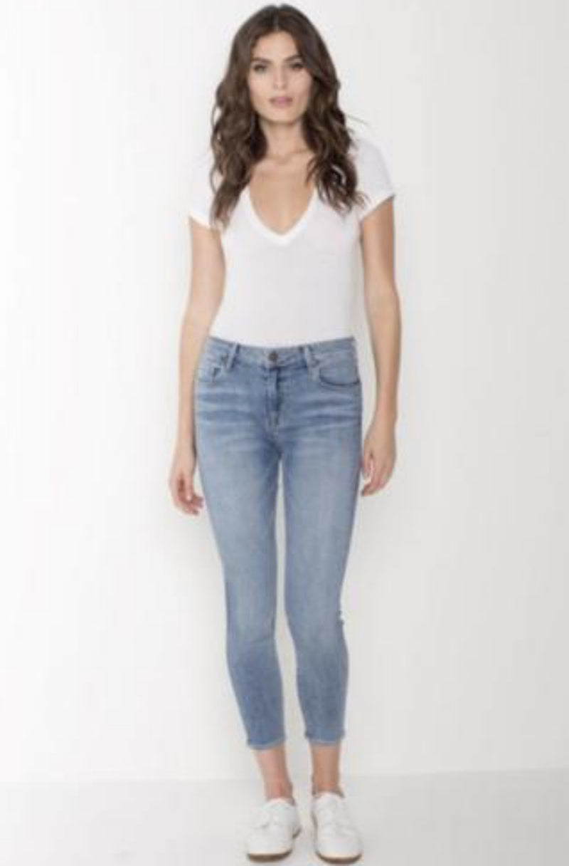 PARKER SMITH Ava Crop Skinny in Current