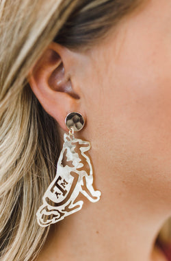LOLA + LINA Reveille Earrings, Large - Gold