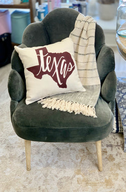 Texas Gameday Pillow