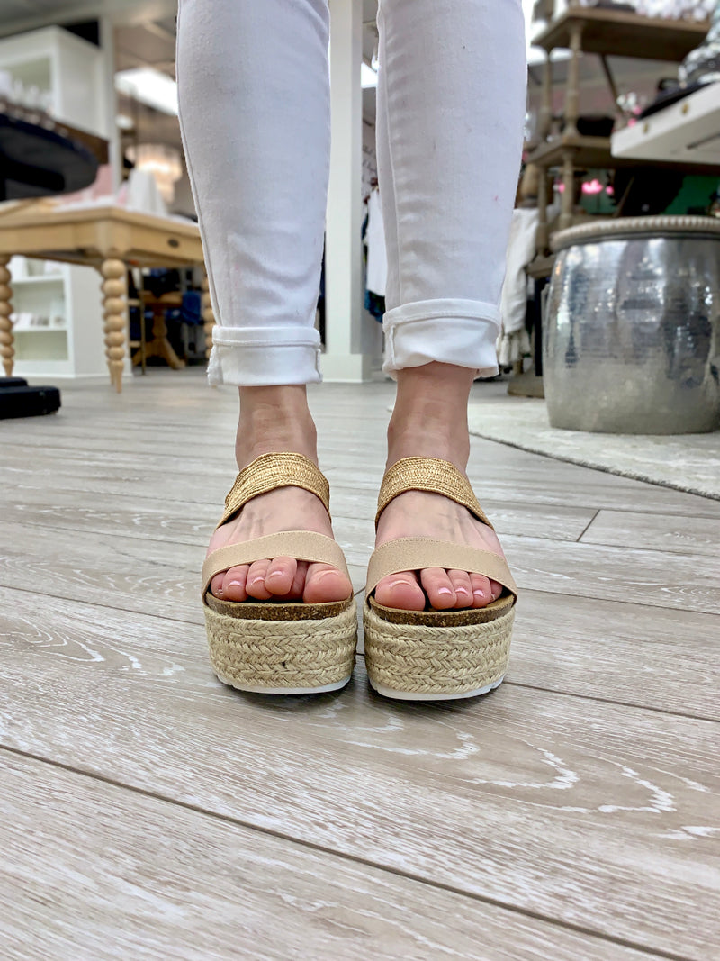 Circa Sandal, Natural Multi