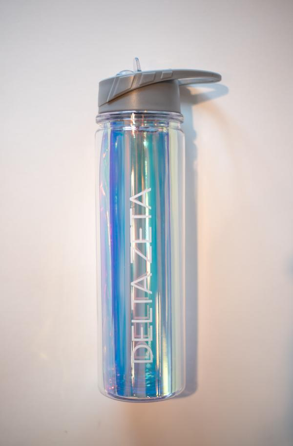 Sorority Iridescent Water Bottle