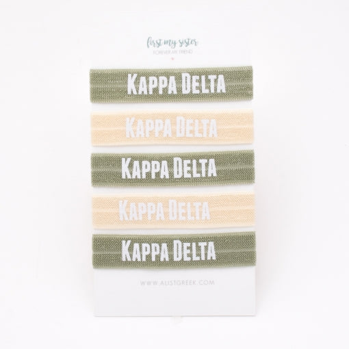 Sorority Hair Ties