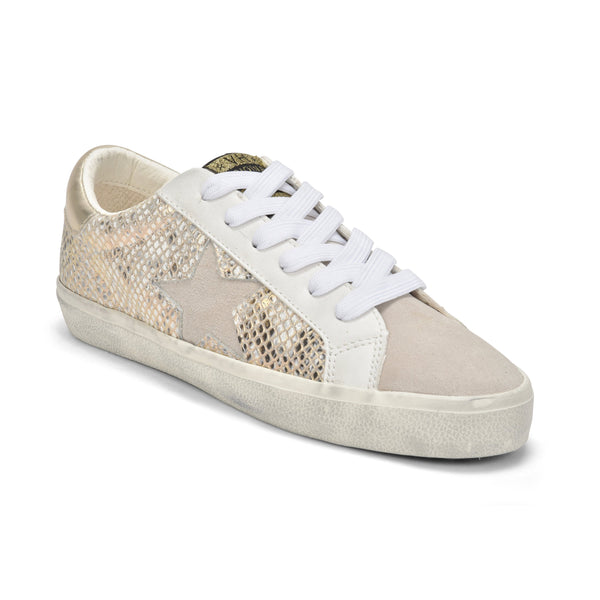 Kate Sneakers, Gold Snake