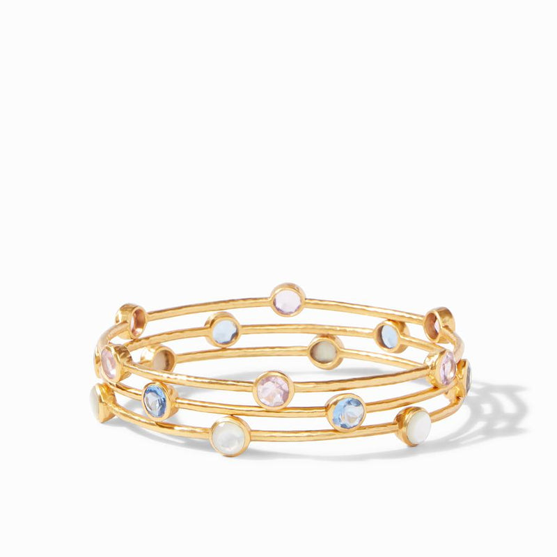 Milano Bangle - Aqua Chalcedony