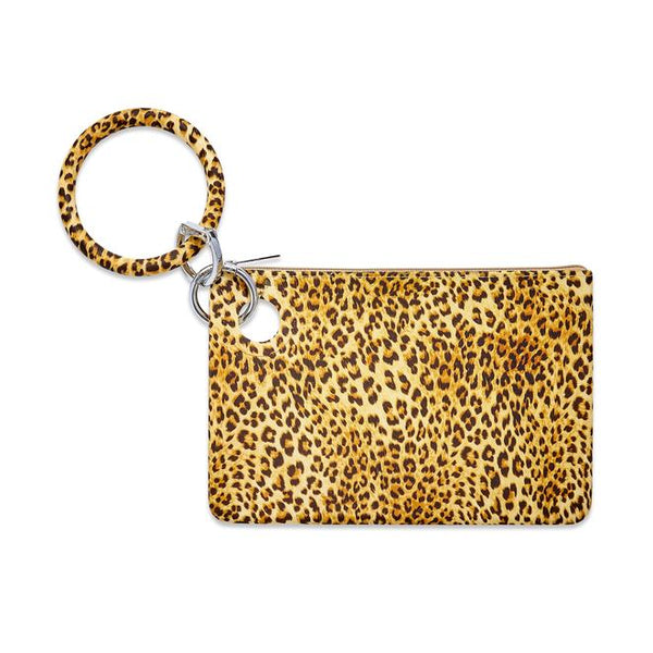 Silicone Big O Key Ring - Cheetah