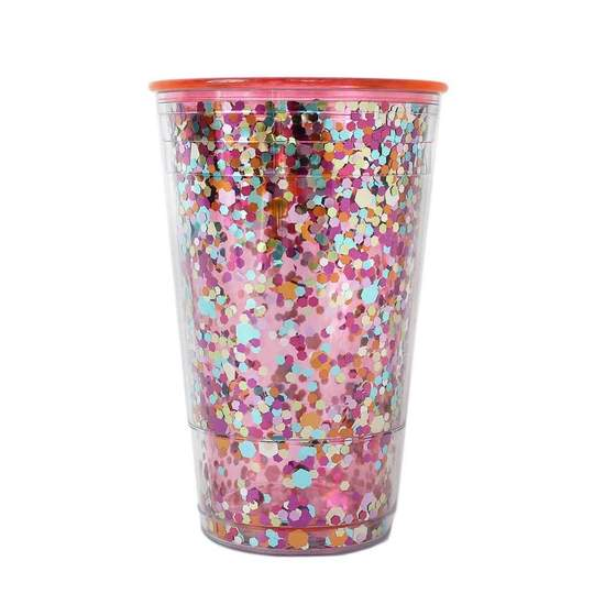 DRINK UP CONFETTI CUP