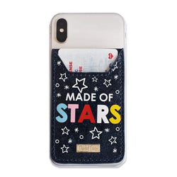 Made of Stars Phone Wallet Sticker