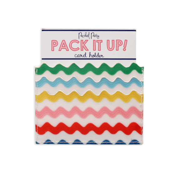 Making Waves Scalloped Card Holder