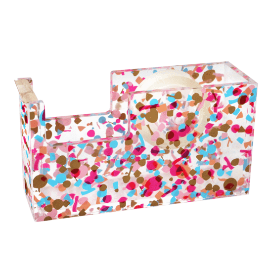 Packed Party Confetti Tape Dispenser