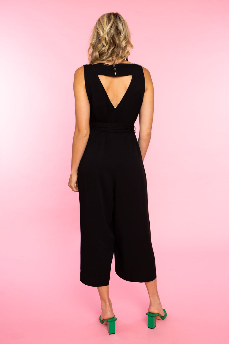 Peaches Jumpsuit in Black