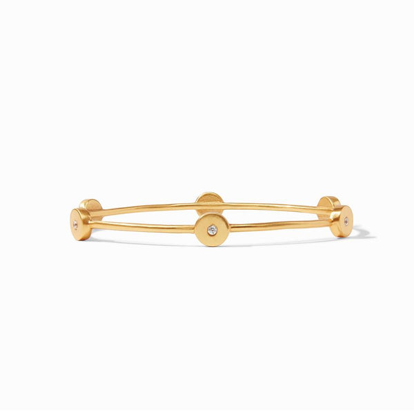 Poppy Bangle - Cubic Zirconia