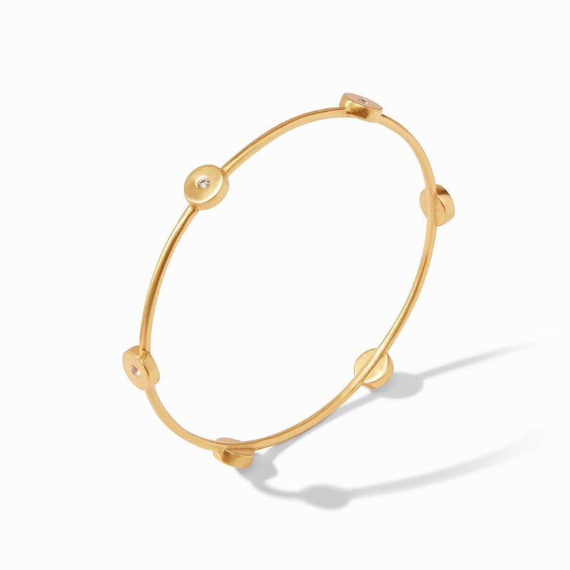 Poppy Bangle - Pearl
