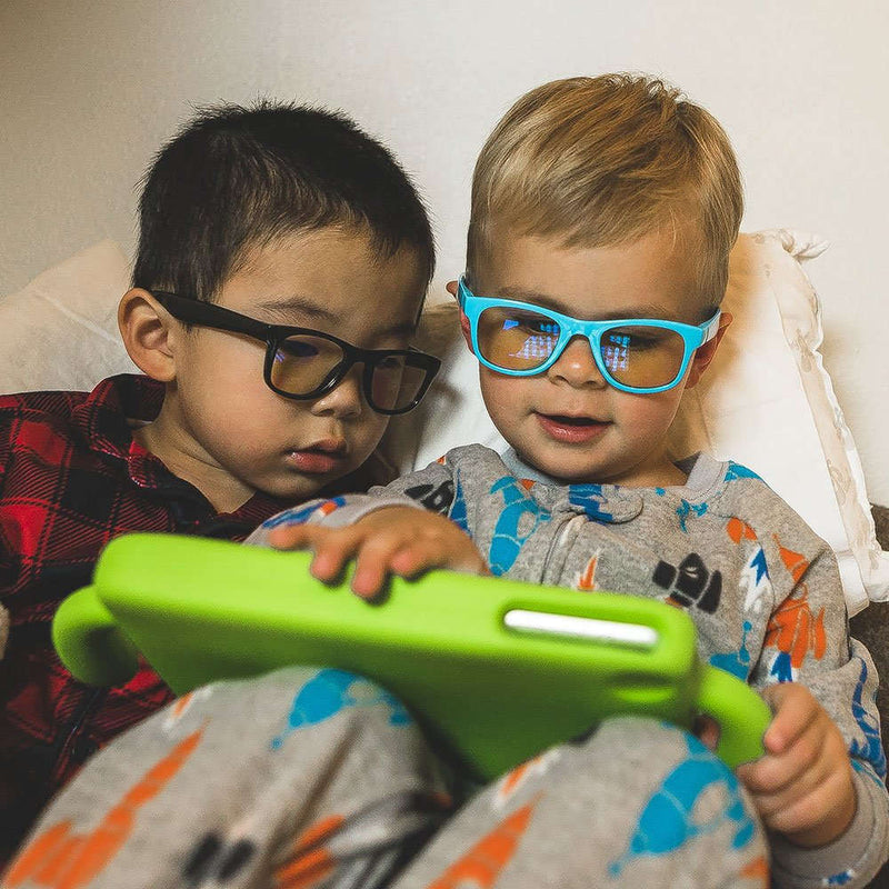 Kids Blue Light Blocking Glasses - Neon Blue