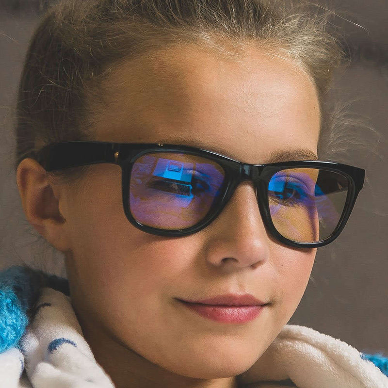 Kids Blue Light Blocking Glasses - Green