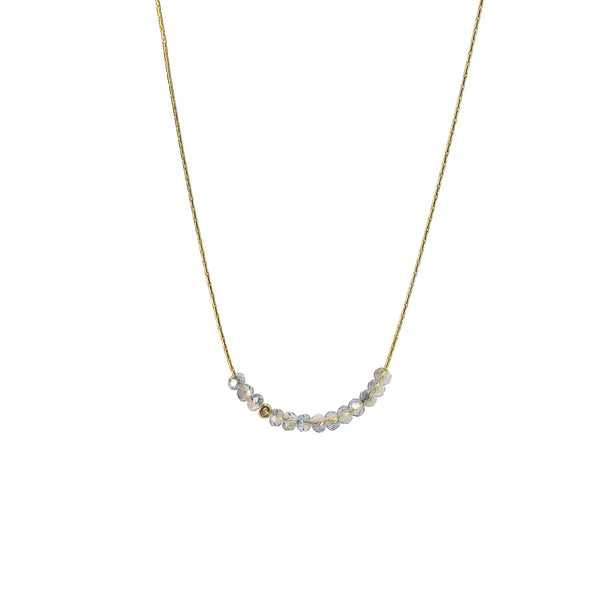 Sprinkle of Glitter Necklace in Luminesce, Gold