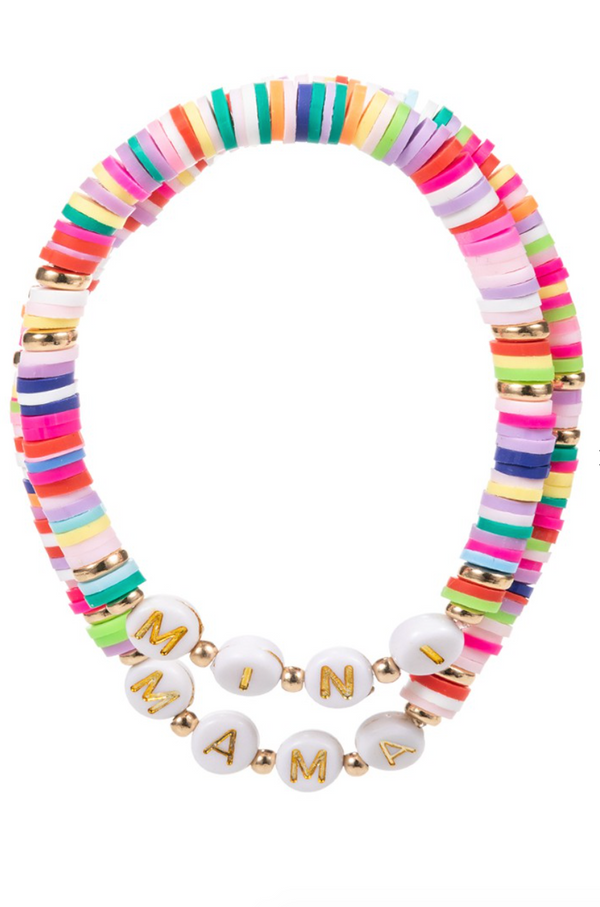Mama & Mini Bracelet Set, Multi