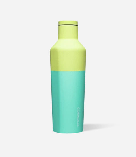 25oz Colorblock Canteen, Limeade