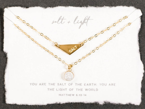 Salt + Light Necklace Set