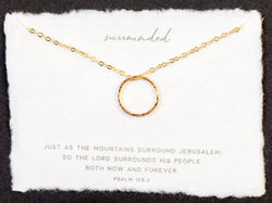 Surrounded Necklace