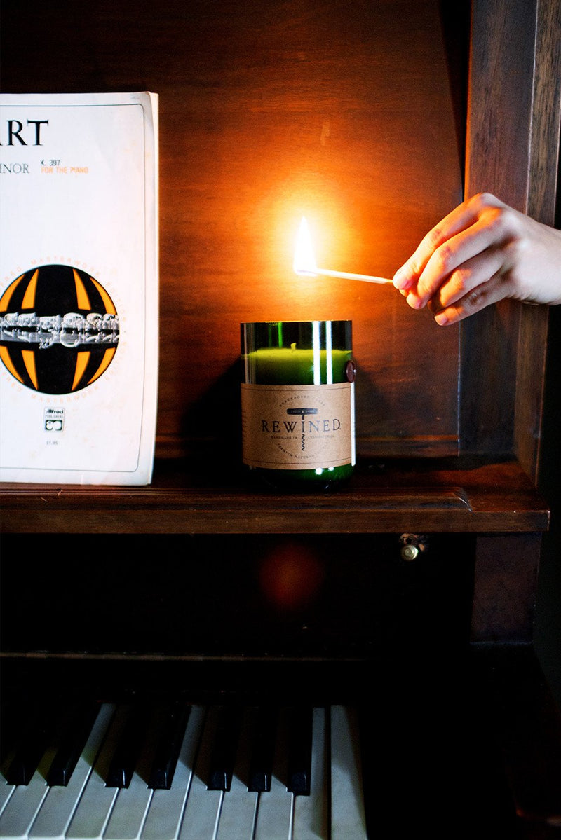 The Original Rewined Candle - Pinot Noir