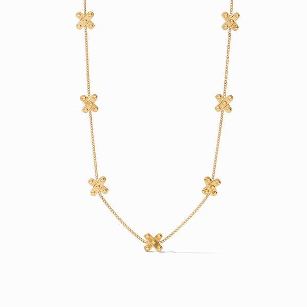Soho Delicate Station Necklace, Gold
