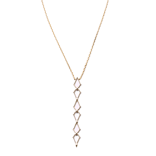 Southern Charm Lariat Necklace in Gold