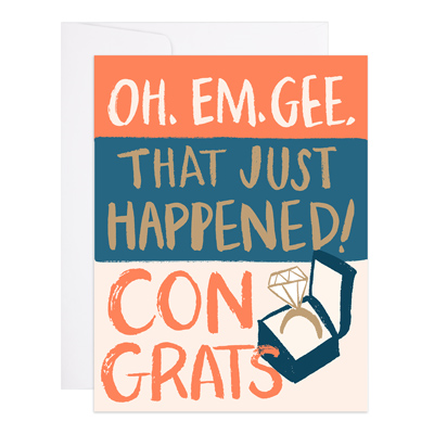 That Just Happened Greeting Card