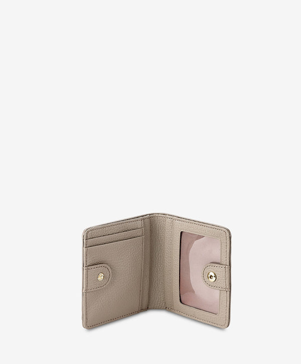Mini Folding Wallet, Stone Embossed Python