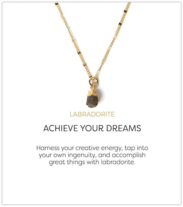 Achieve Your Dreams Necklace, Labradorite