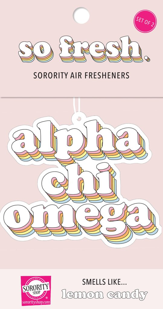 Sorority Retro Air Freshener
