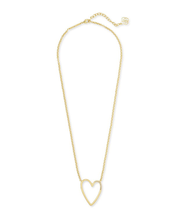 Ansley Pendant Necklace, Gold