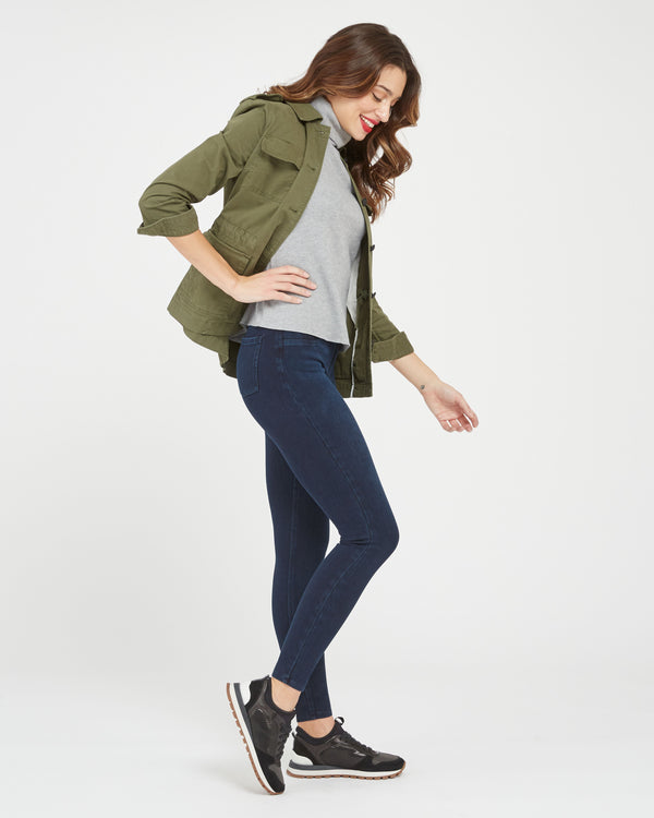Jean-Ish Ankle Leggings, Twilight Rinse