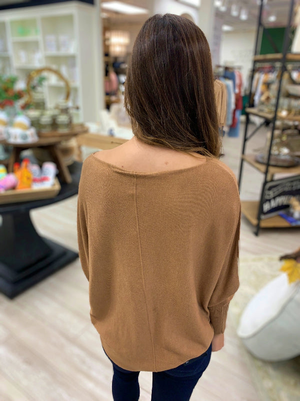 Ryu 'Lin' Top, Dark Camel