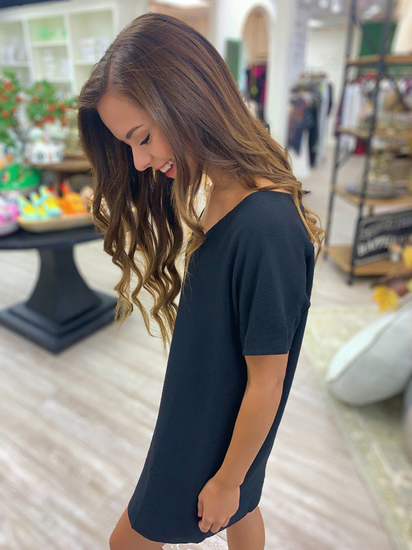 Baker Dress, Black